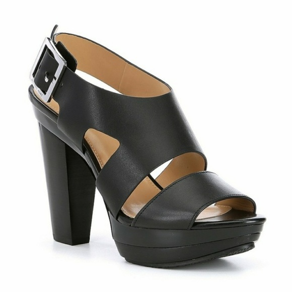 Carla Vachetta Leather Platform Sandals t3Xh6
